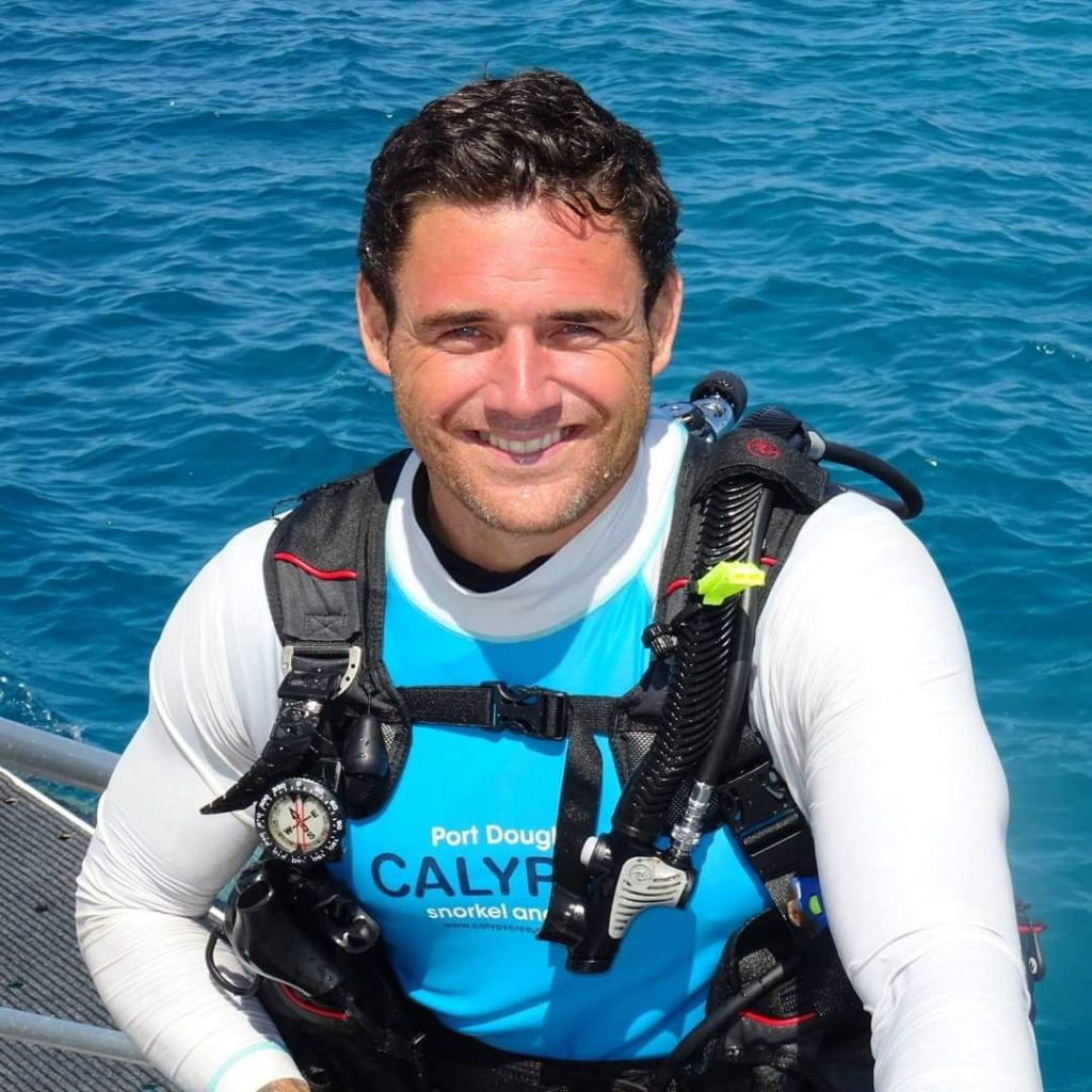 Rob F Dive Instructor Calypso Reef Cruises
